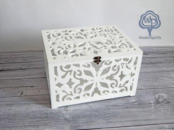 Gift Card Boxes Wedding: Wooden Wedding Card Box Wedding Card Holder Wedding Gift Card