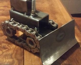 Welded Metal Bulldozer