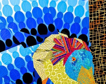 Curious Duck Quilt Pattern