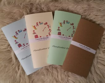 Notebooks (refills) Khaalldori Traveler's Notebook / Planner everyday (Format Midori)