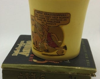 1933 716 Little Orphan Annie and Sandy The Big Little Book and Ovaltine Cup