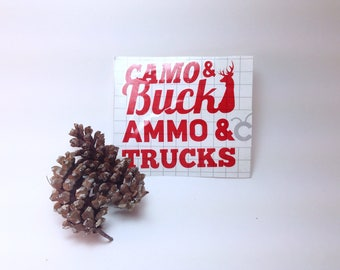 Gift For Him, Mans Decal, Car Decal, Truck Decal, Decal with Letters,Cooler Decal, Decal Sticker, Car Sticker, Truck Sticker