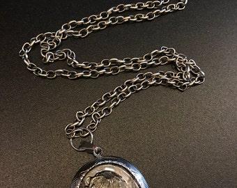 Silhouette Pendant Necklace