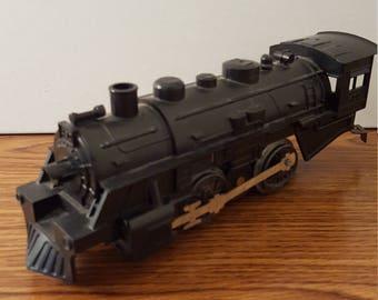 Marx (c. 1960's) O-gauge New York Central Steam Engine, Tender, Hopper Car, Tank Car and Caboose