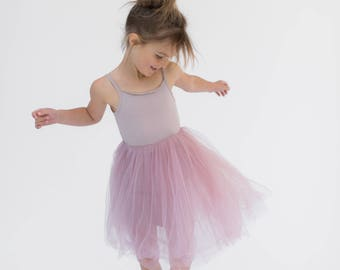 TAMKids Tutu Tulle dress Belle Dress Yellow Gray Pink Girls Tutu Dress Princess Belle Spring Summer dress Fall Dress Birthday