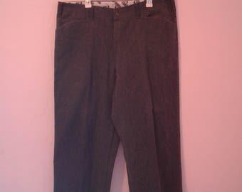 Ben Davis Gorilla Cut Size 40 Baggy Pants Matte Gray rare