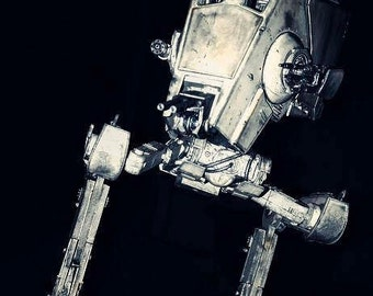 AT-ST 1/48 scale plastic model