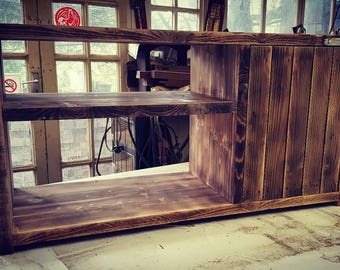 Jimmy Hendrix - Reclaimed timber TV unit - Bespoke and Handcrafted