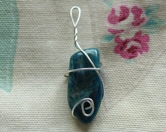 Aventurine Pendant- Sterling Silver and Crystal Jewellery