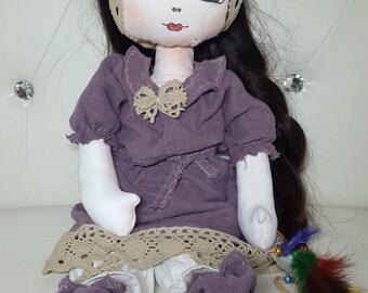 Olga 100% Handmade Doll - 45cm height