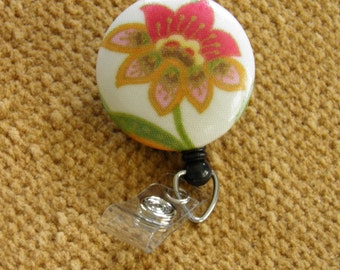 Retractable Badge Reel, ID Holder