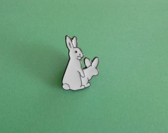 White rabbits badges