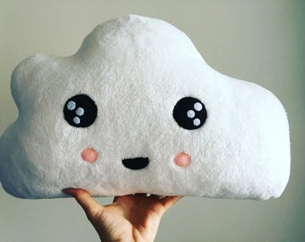 Plush Cloud Pillow- Handmade, sewn by hand in Hawaii, Size: Large