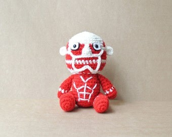 Titan | Giant | Attack on Titan | Attack on Titan | Amigurumi Plush | READY TO SHIP