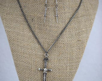 Sacrificial Dagger Jewelry Set