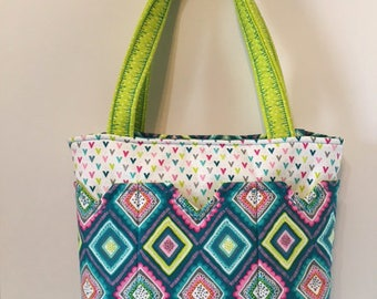 Multi-Color Diamonds Bag