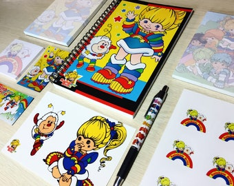 Rainbow Brite Deluxe Stationery Set