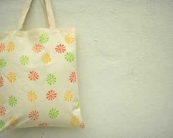 Floral Hand Painted Handbag- Unique Gifts