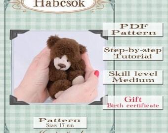 Habcsok Teddy Bear Pattern