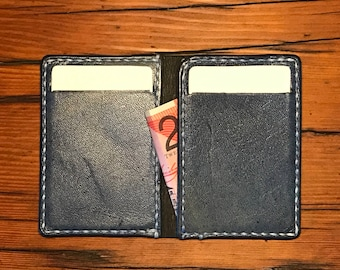 Slim kangaroo leather wallet