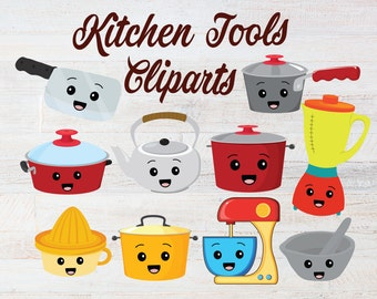 Kitchen Cliparts, Cooking Cliparts, Kids Baking Clipart, Professional Cooking Cliparts, Bridal Shower Cliparts