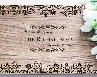 Anniversary Gift Engagement gift Cutting Board Personalized Wedding Gifts For Bride House Warming Gift Personalized Wedding Gift for Couple