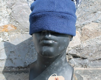 Navy Blue Cat Ear Hat