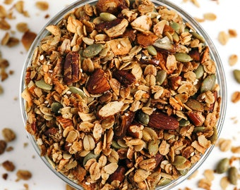Salty-Sweet Olive Oil Granola (1 12-oz pouch)