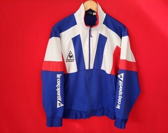 vintage Le Coq sportif jacket  multicolour medium mens
