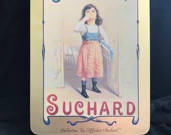 Vintage Suchard Chocolat Tin