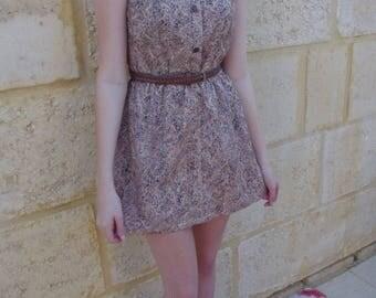 Vintage Reworked Shirt Dress