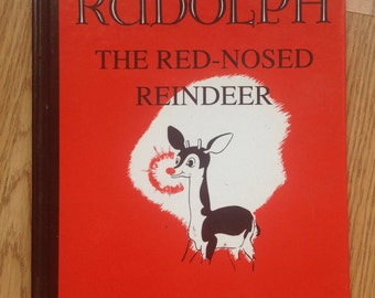 Rudolph the Red-Nosed Reindeer 1967 Book by Robert L. May