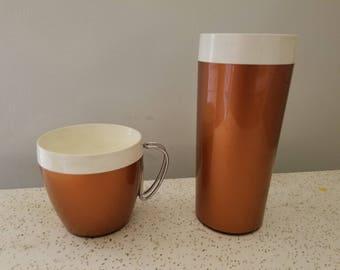 1970s Mug and Tumbler Set