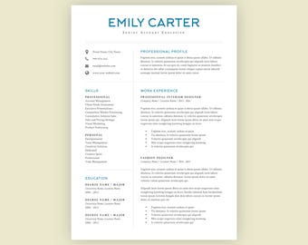 Summaries For Resumes Pdf Resume Design  Etsy Walmart Resume Word with Teenage Resume Examples Word  Resume For Fast Food Word