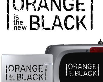 Orange is the new black Vinyl Decal Sticker Car Laptop Window Art OITNB TV Show