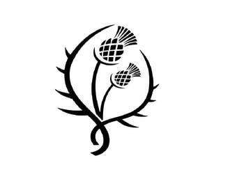Outlander Inspired - Scottish Thistle