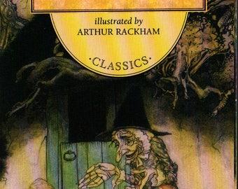 Wordsworth Classics Mother Goose - Arthur Rackham - 1994 - Vintage Kids Book