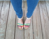 Cute and Colorful Strappy Sandals by Mootsies Tootsies - Size 7.5 M