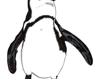 Penguin - Postcard
