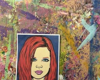Shirley Manson Sticker