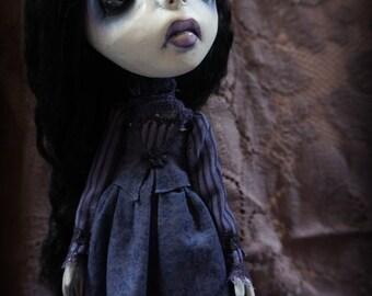 Loopy Southern Gothic Art Doll Victorian Dark Goth Marcella