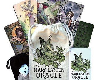 Oracle Tarot Deck with artwork by Mary Layton Limited Edition