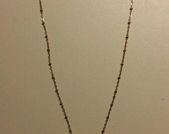 Aquamarine Quartz and Apatite Necklace