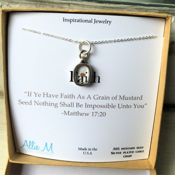 faith like a mustard seed coloring page - silver faith mustard seed necklace with quote scripture