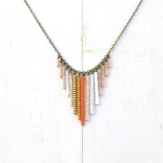 Fringe Necklace > Sunrise