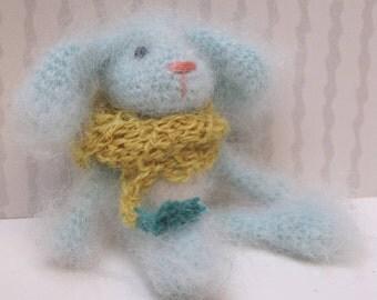 Little blue bunny