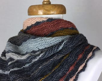 Nature Gradient Oversized Shawl/Wrap