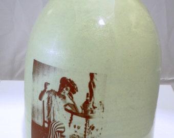 Soiled Dove jug moonshine whiskey handmade