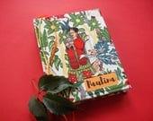 Custom Frida Sketchbook · Personalized Travel Journal · Frida Notebook · Frida Kahlo Traveler's Notebook· Gift for Traveler · I Love Mexico