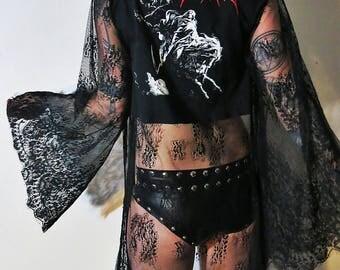Emperor Lace Robe